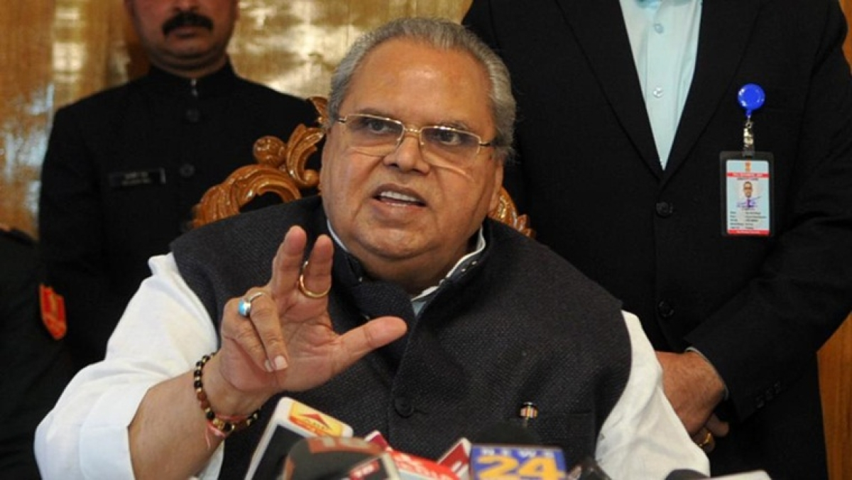 Pure security measure being mixed up with other issues leading to panic in Kashmir: Governor Satya Pal Malik