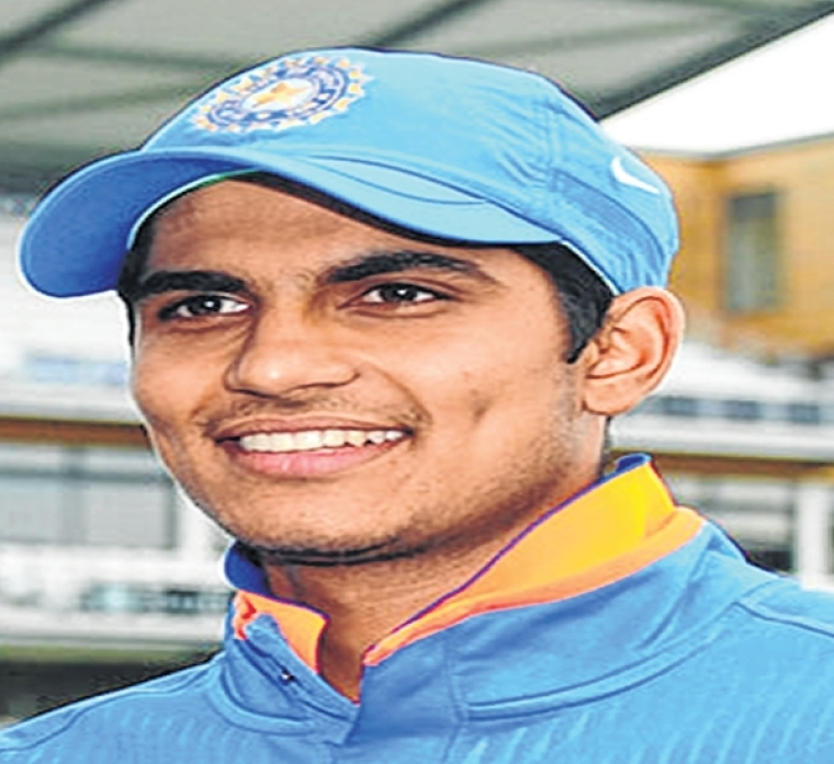 Shubham Gill scores ton against Windies 'A'