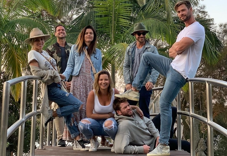 Liam Hemsworth enjoys vacay with family and friends, post split with Miley Cyrus