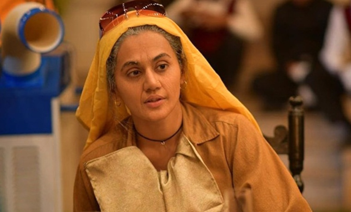 Saand Ki Aankh: Taapsee Pannu trained for three months to hold a pistol and learn shooting