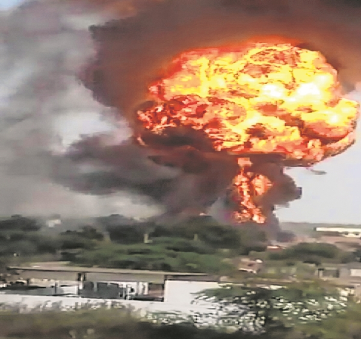 Dhule chemical factory blast management booked
