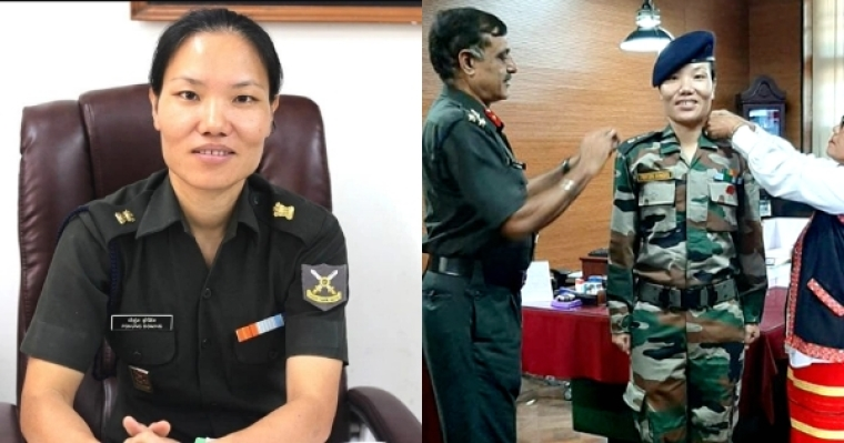 First woman Lt. Col. from Arunachal