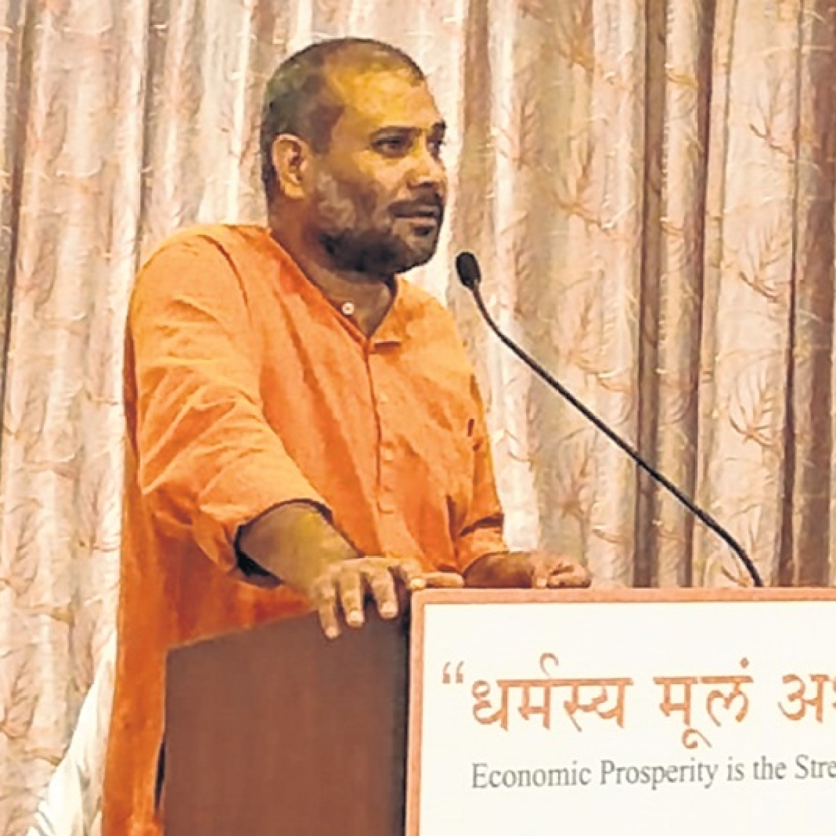 Double digit growth is not easy for India: Swami Vigyananand