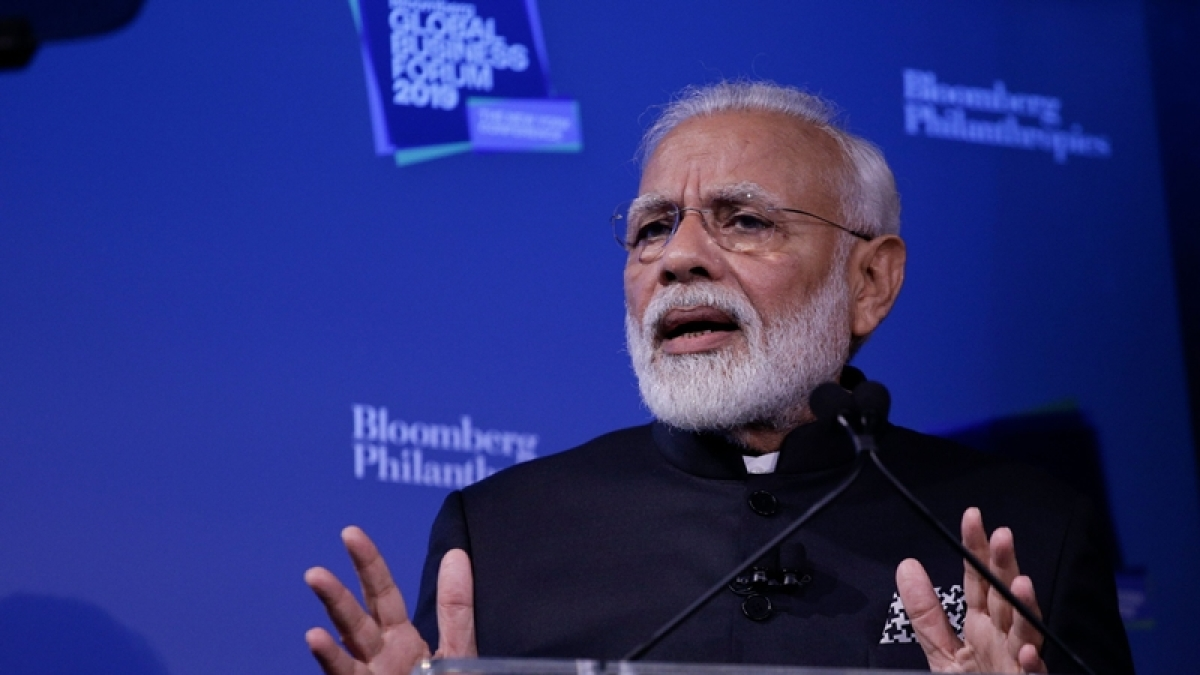 PM Narendra Modi urges US investors to invest in India at Bloomberg Global Business Forum