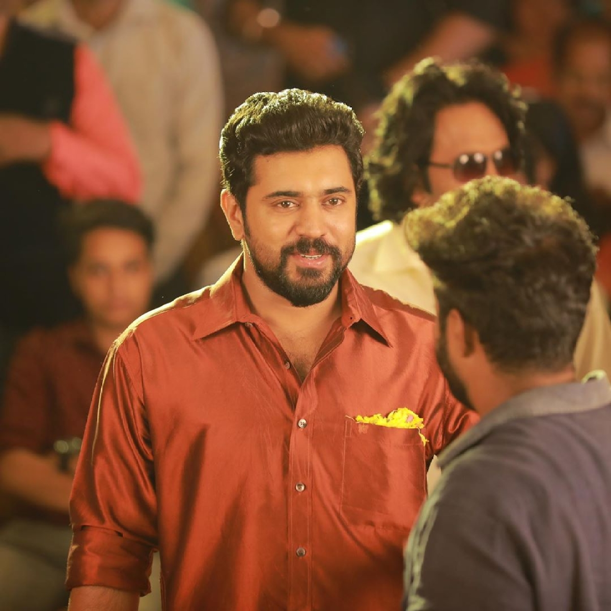 Nivin Pauly Shares a Video of a Priest dancing to the song Kudukku