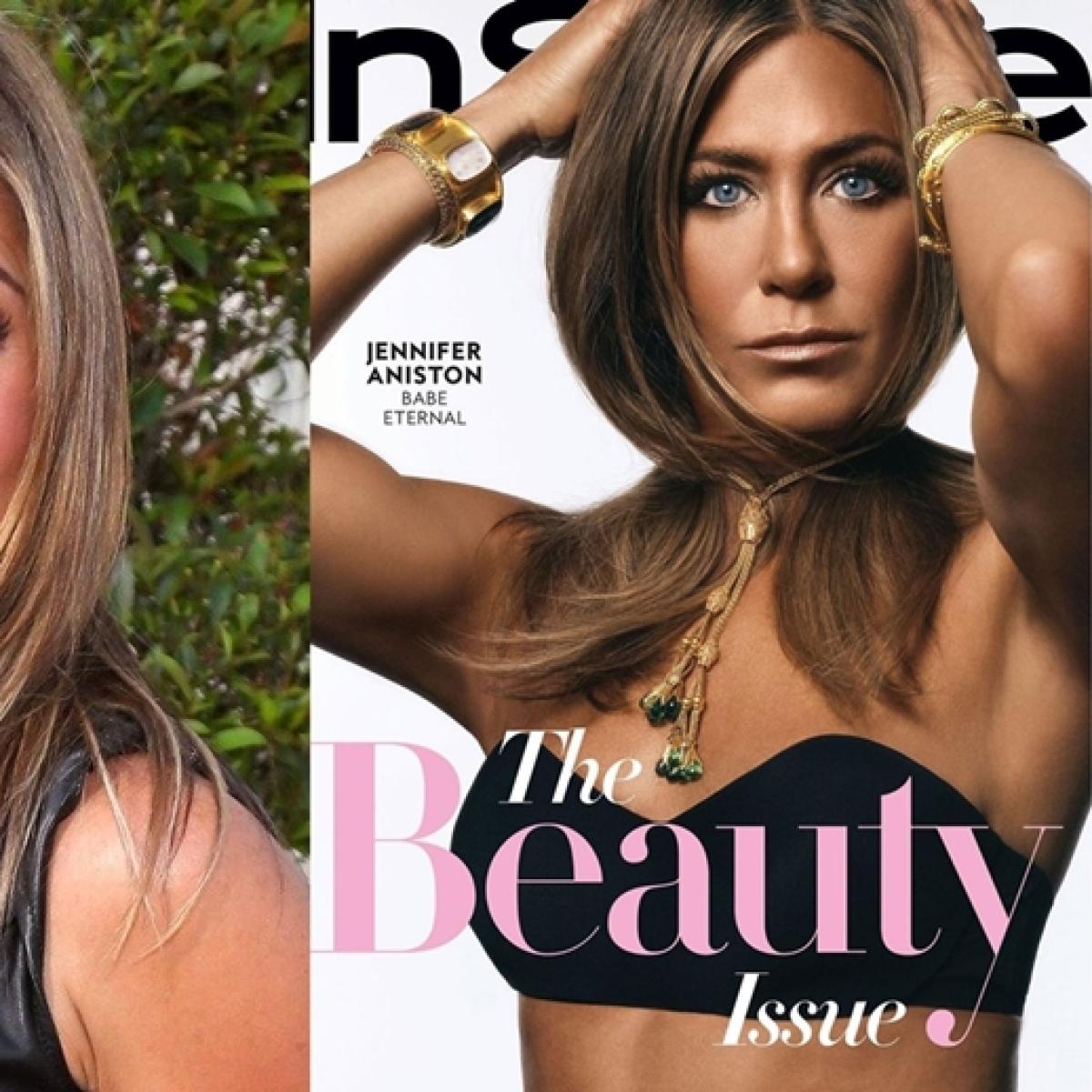 Jennifer Aniston receives flak for dark complexion on latest magazine cover