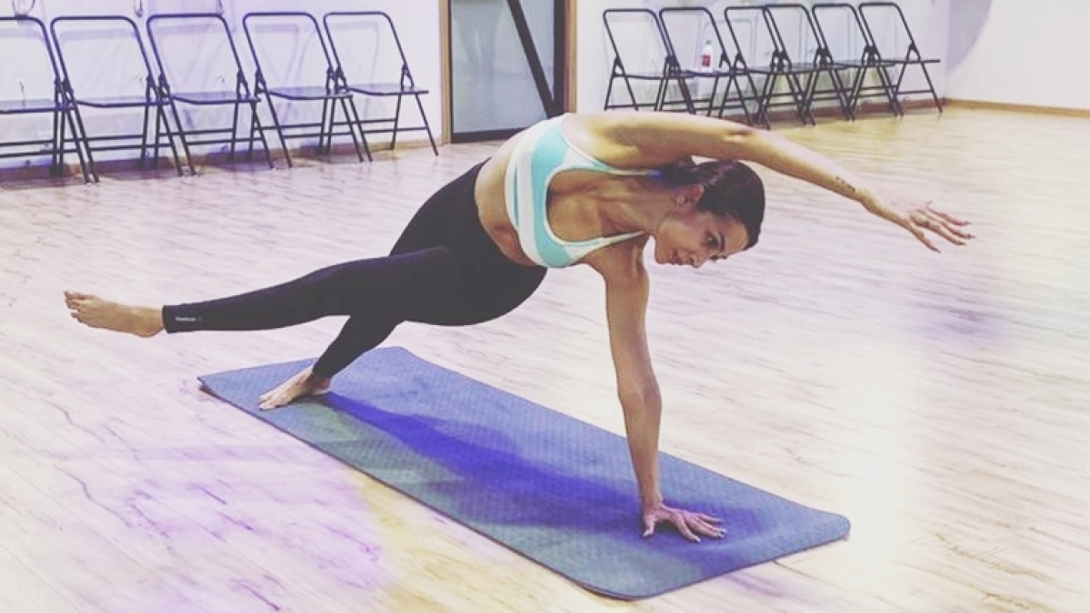 Malaika Arora performs difficult yoga posture to cultivate universal love and acceptance