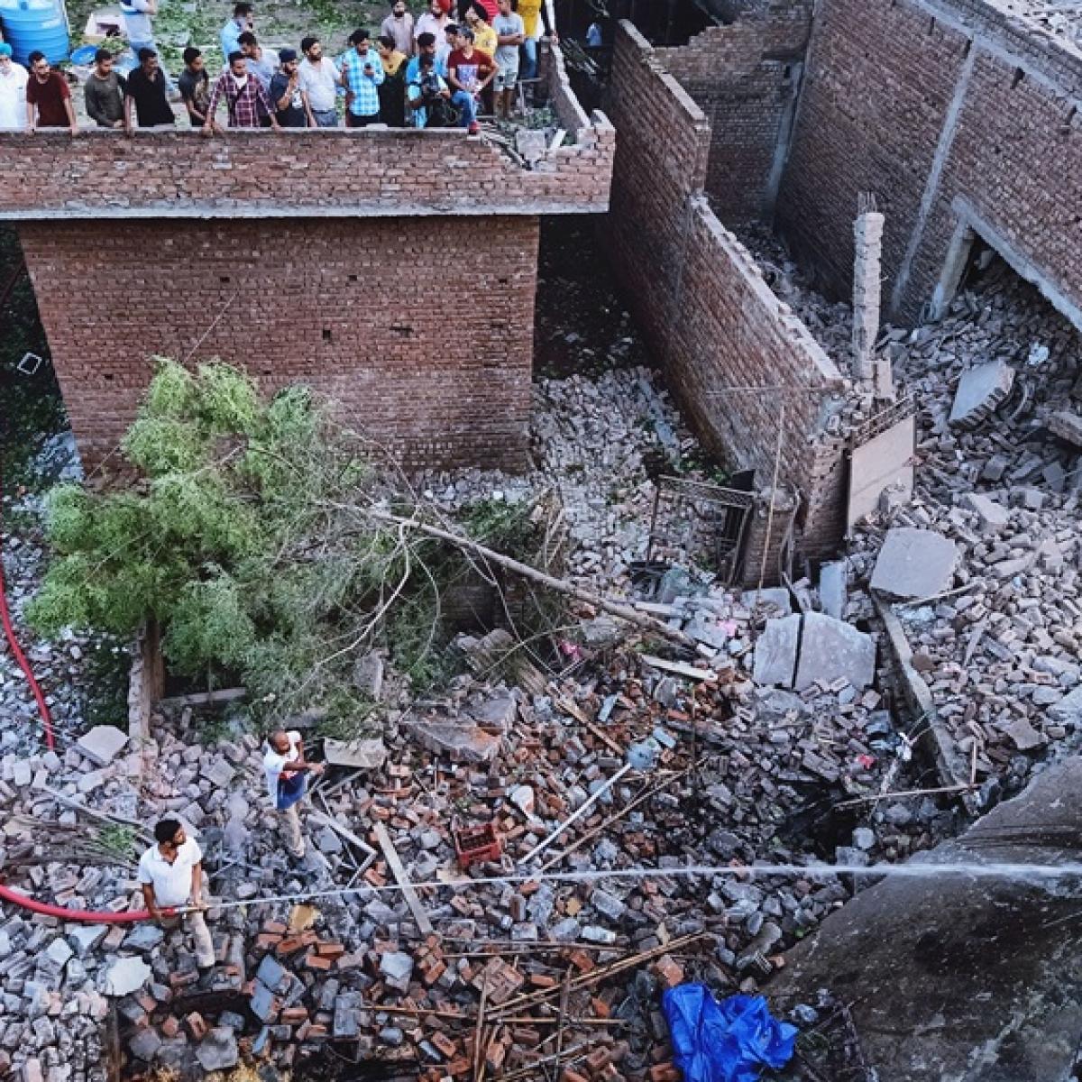 Punjab: 23 killed, 27 injured in blast at Gurdaspur firecracker factory