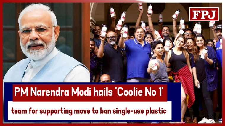 PM Narendra Modi Hails 'Coolie No 1' Team For Supporting Move To Ban Single-Use Plastic