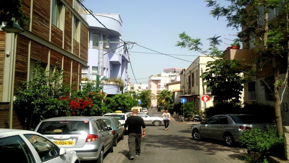A street in Kerem Hateimanim.