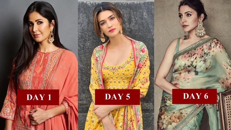 Bollywood divas at your rescue to don Navratri 2019 colours in style