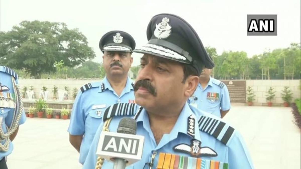 Air Chief Marshal Rakesh Kumar Singh Bhadauria takes charge as new IAF chief