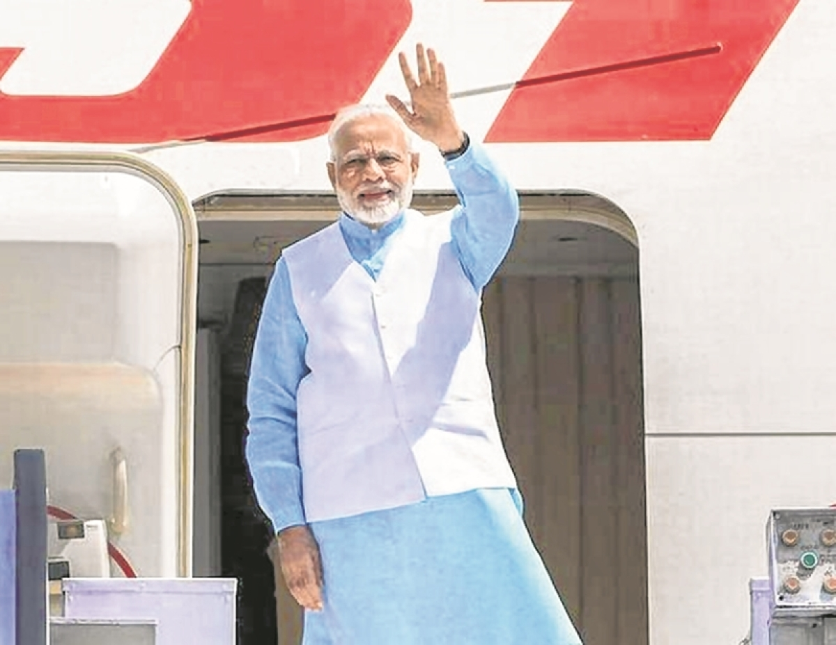 Massive send-of to Houston-bound PM Modi by markets