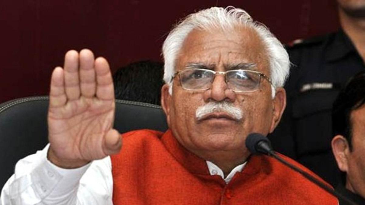 Will implement Assam-like NRC list in Haryana, says Manohar Lal Khattar