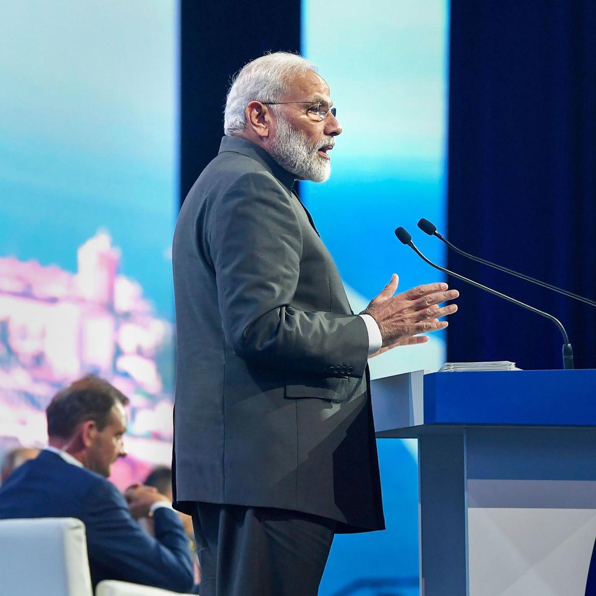 Modi elaborates on India's target to be $5 trillion economy at EEF