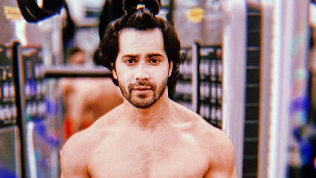 Varun Dhawan's shirtless picture is a perfect treat to start your week
