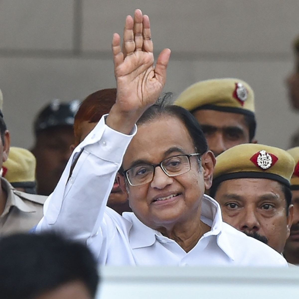 After 106 days in Tihar jail, P Chidambaram finally walks out