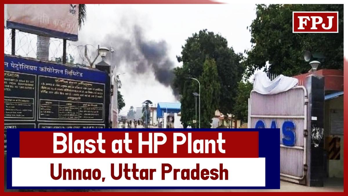Breaking News: Blast At Hindustan Petroleum Corporation Plant In Unnao