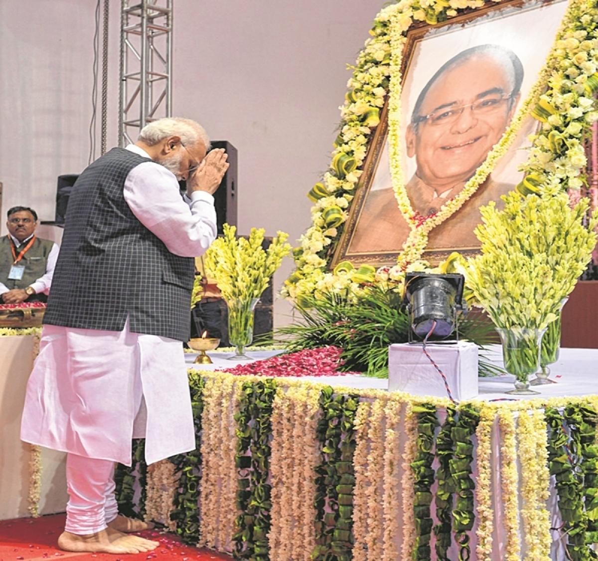 Media was very fond of Arun Jaitley: PM Modi