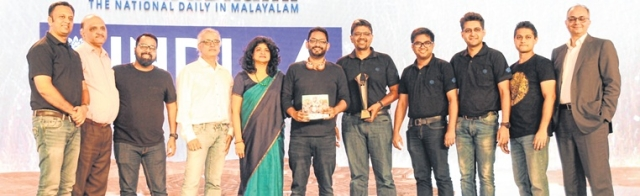Nandini Dias, IAA Mancom Member and CEO, Lodestar UM; Punit Misra, CEO, Zee Entertainment Enterprises; and Raj Nair, CEO and CCO, Madison BMB  presented the trophy to the winners — Bajaj Auto and Leo Burnett team
