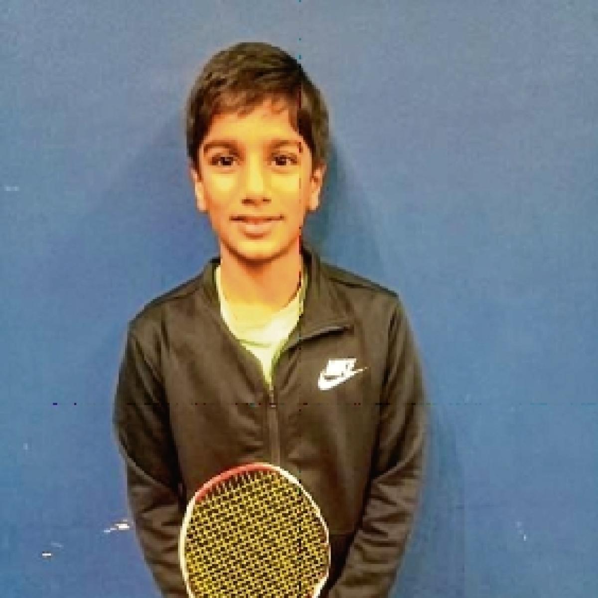 Shashwat Kumar advances in Badminton tournament