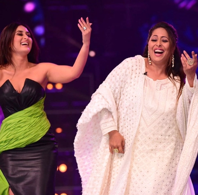 Kareena Kapoor recreates 'Poo' moment on Dance India Dance with Geeta Kapur