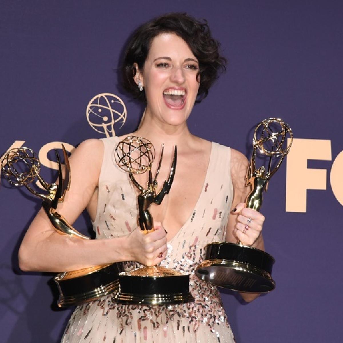 Emmys 2019: Phoebe Waller-Bridge named best actress for 'Fleabag'
