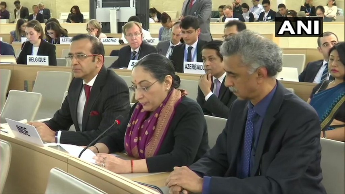 Revocation of J&K's special status sovereign decision: India at UNHRC