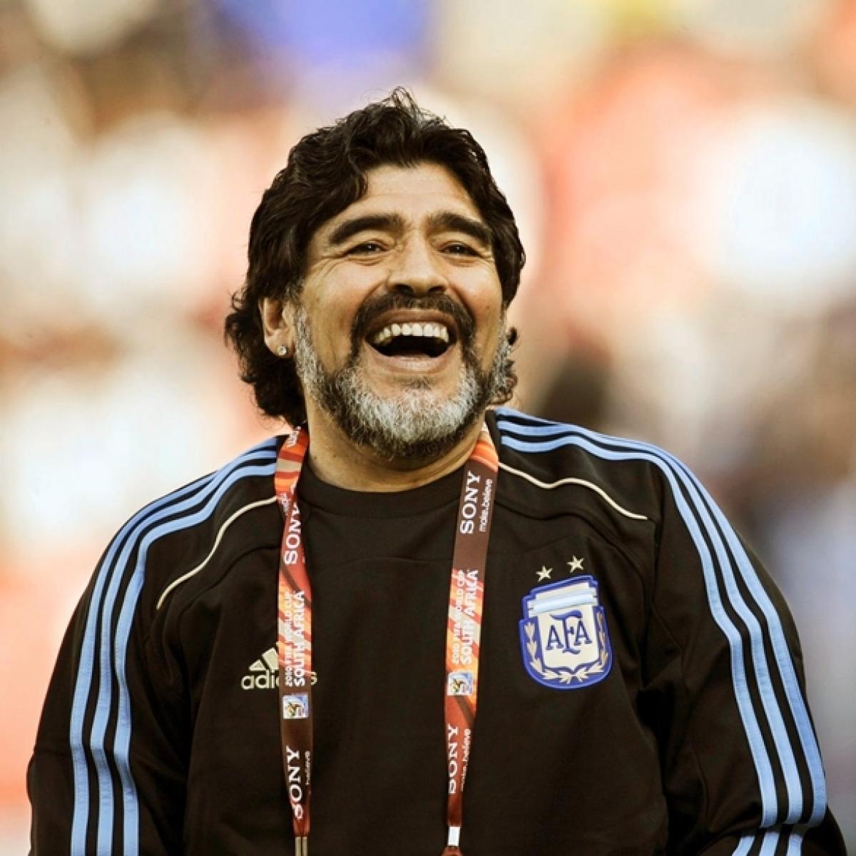 Diego Maradona appointed coach of Argentine Superliga side