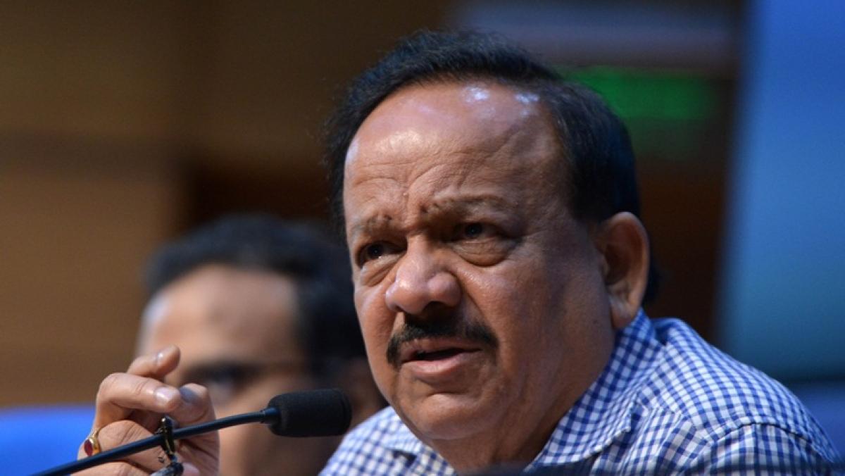 Union Heath Minister Harsh Vardhan