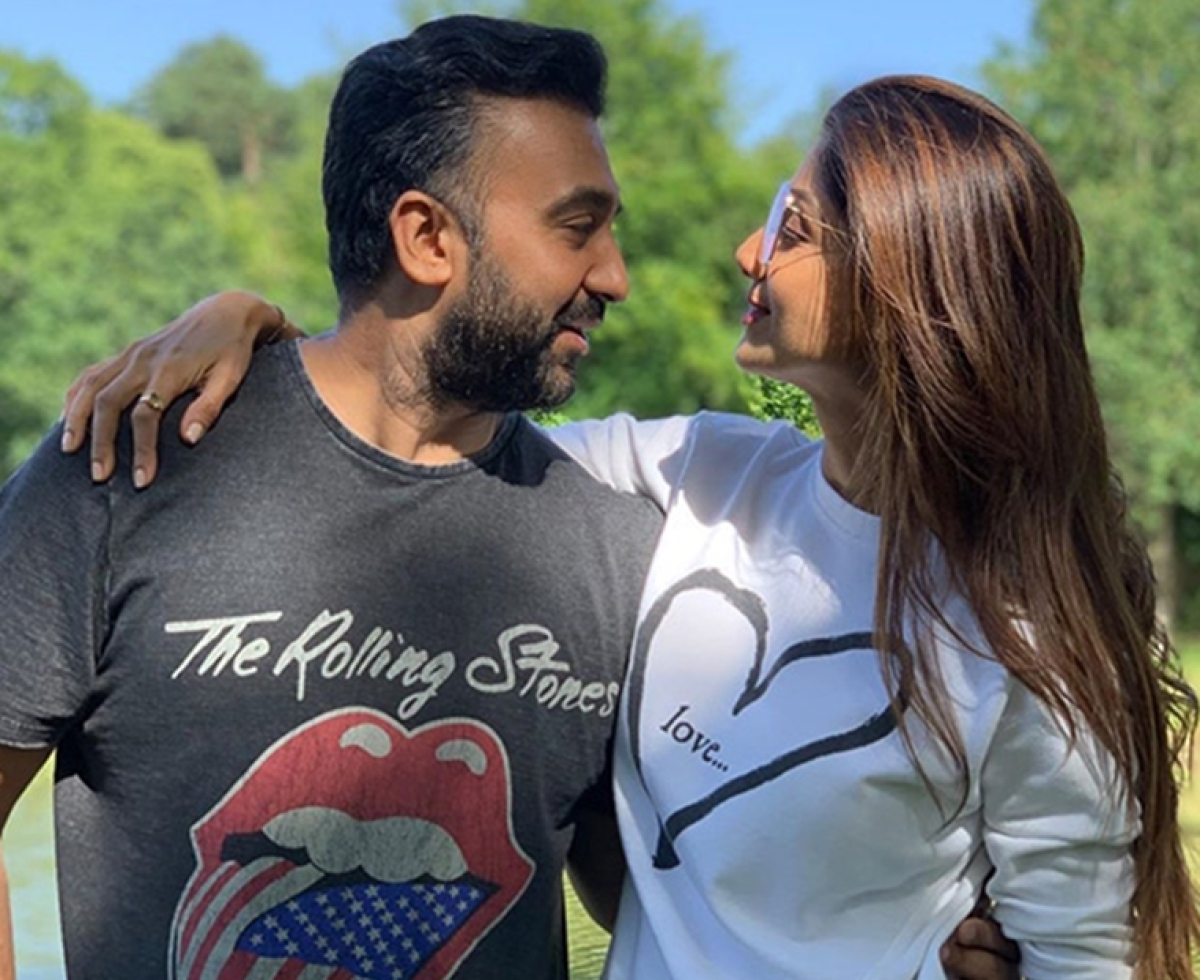 Shilpa Shetty shares a heartfelt birthday wish for her 'Cookie' Raj Kundra
