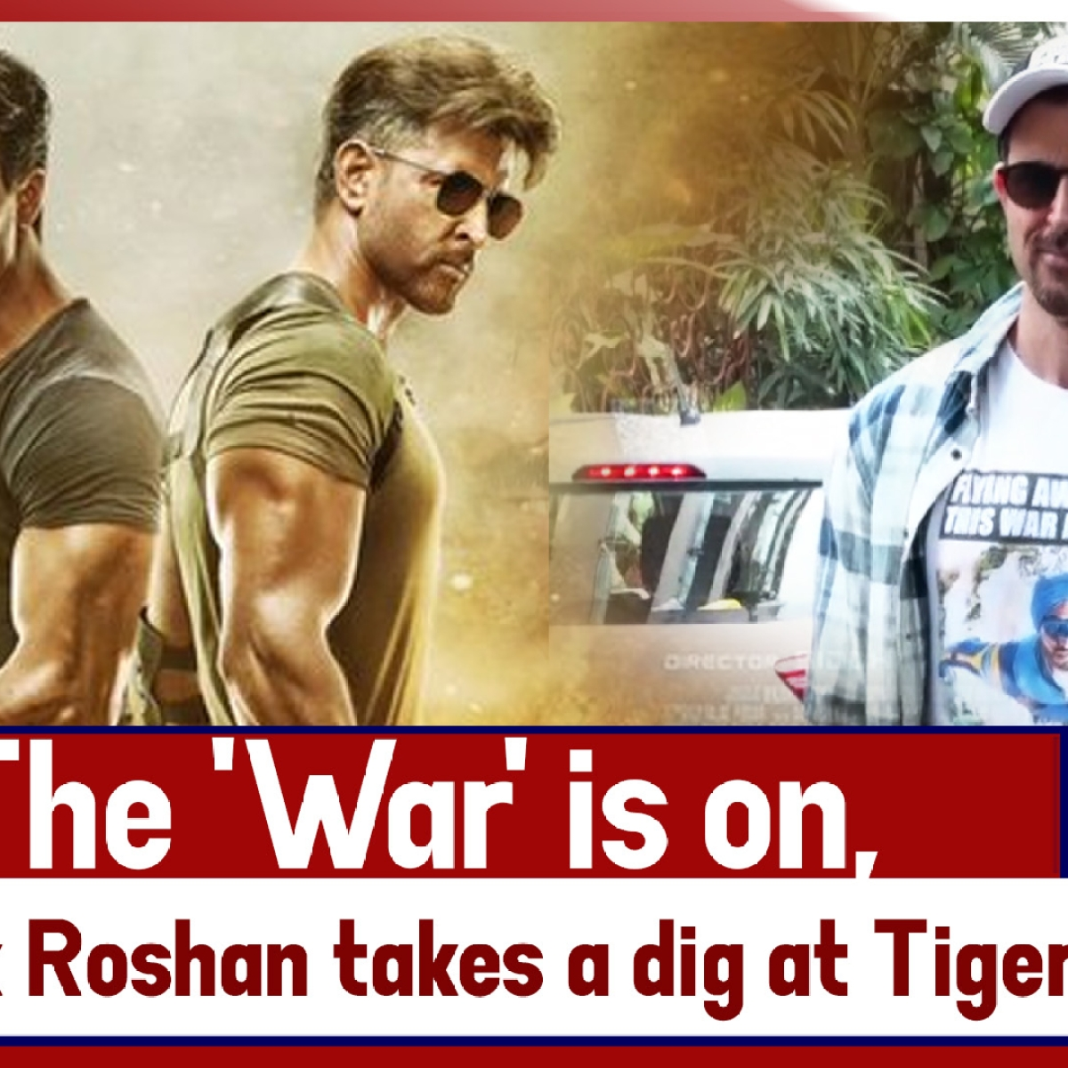 The 'War' Is On, Hrithik Roshan Takes A Dig At Tiger Shroff