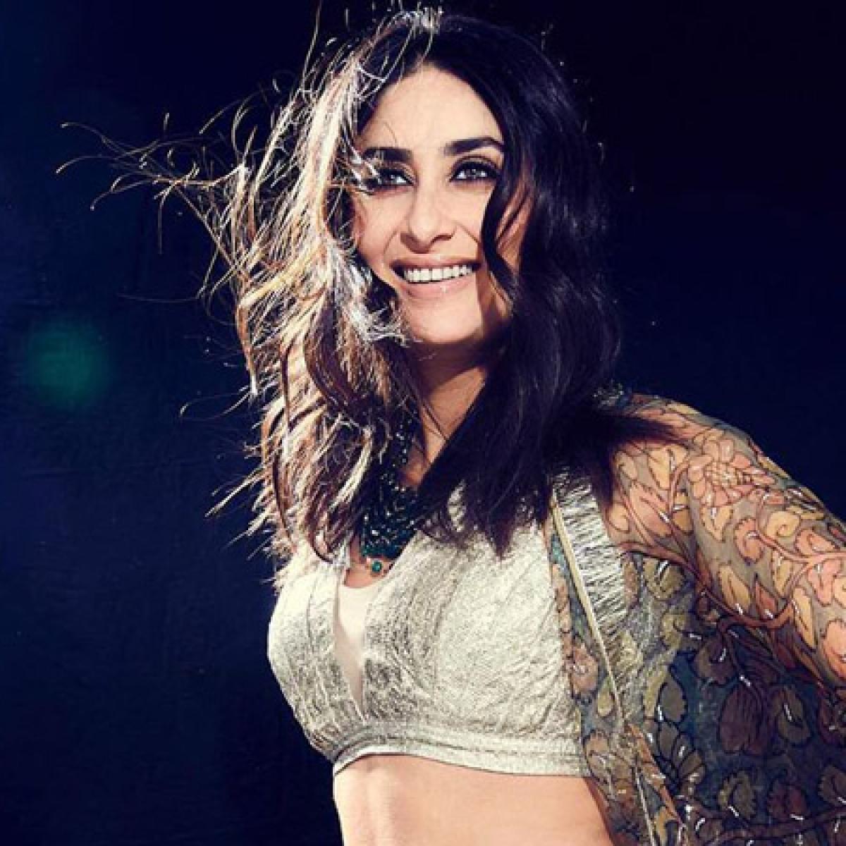 Kareena Kapoor Khan looks ethreal as she twirls in a Nazm-e-Itrh lehenga!