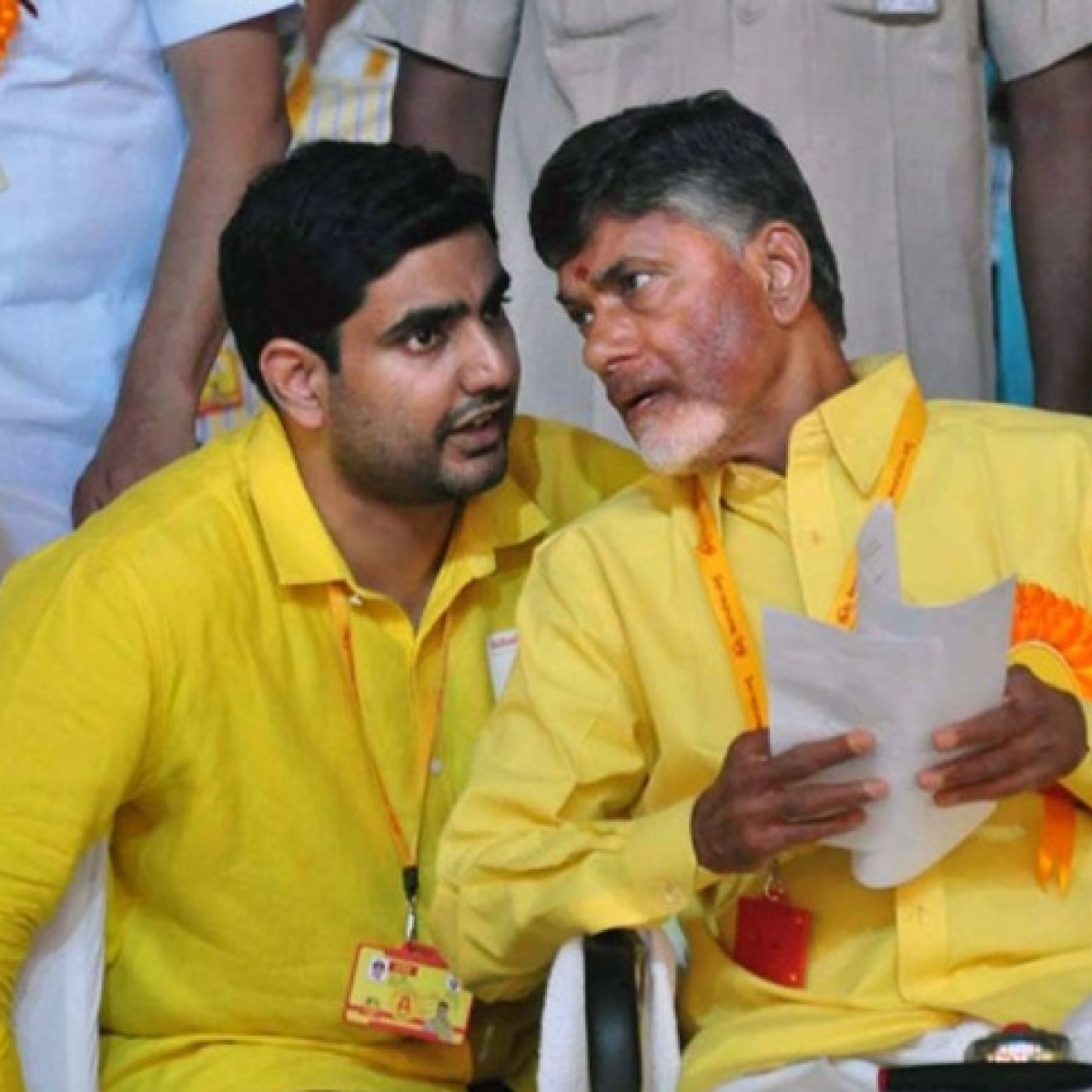 Chandrababu Naidu, son Nara Lokesh put under house arrest amid protest against YSRCP government