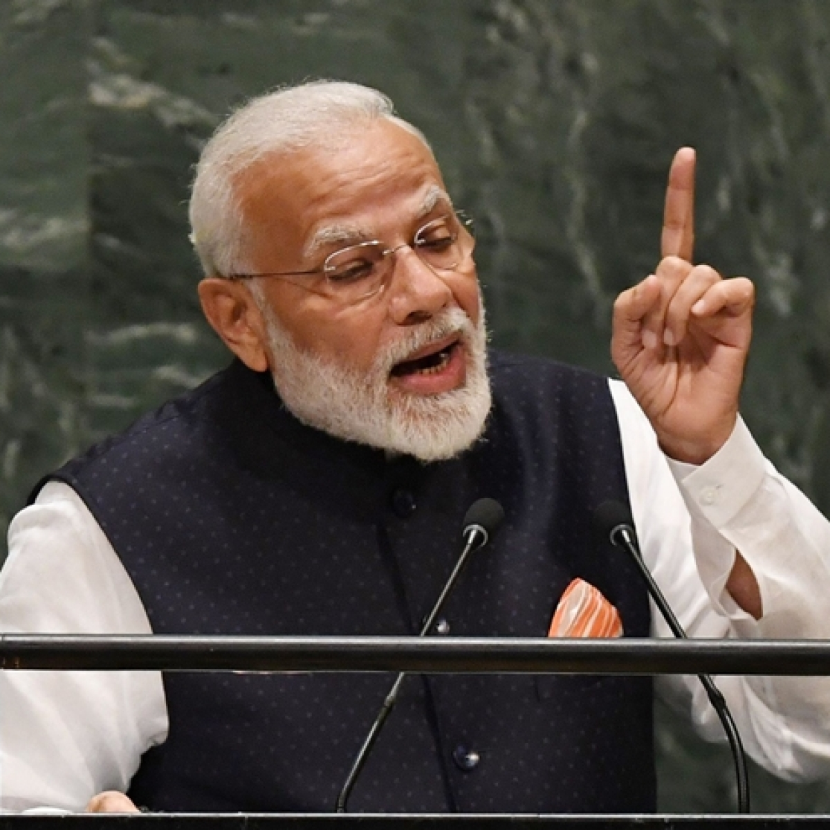 BJP going to polls based on development work: PM Narendra Modi