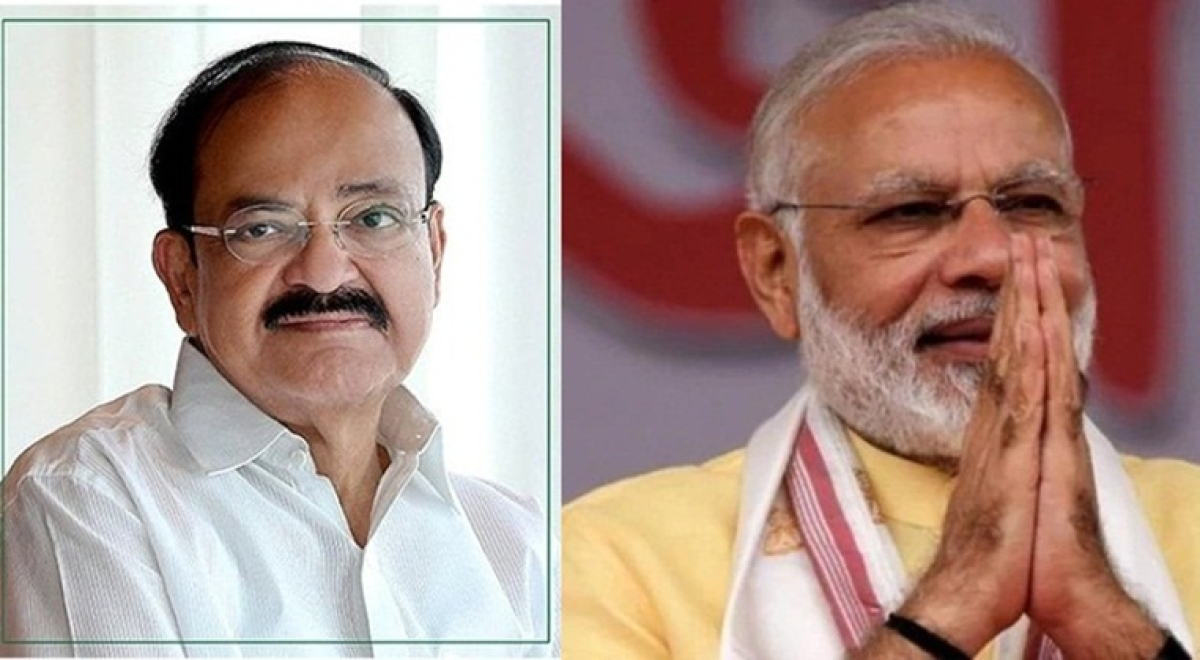 Prime Minister, Vice President greet country on Hindi Diwas
