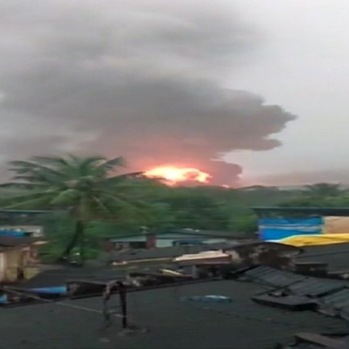 Navi Mumbai: 4 killed, 3 injured as massive fire breaks out at ONGC plant in Uran