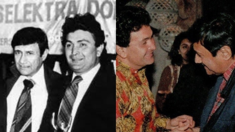 Rishi Kapoor pays tribute to Dev Anand on 96th birth anniversary with throwback pics