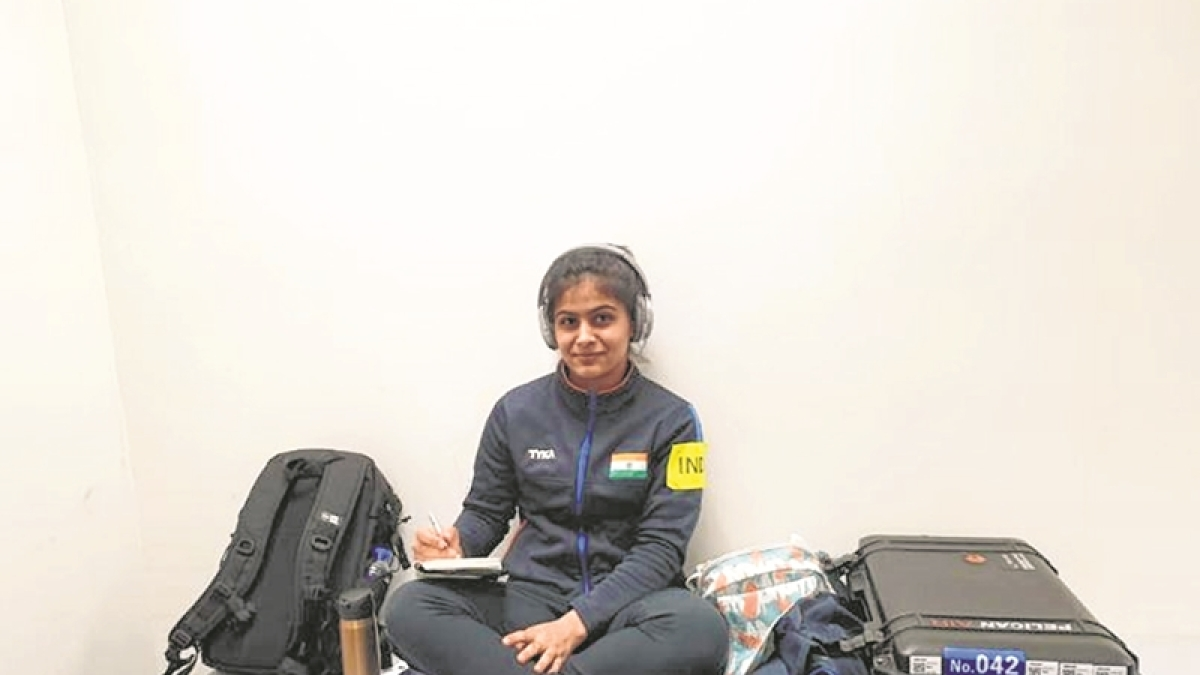 Maintaining focus is key,says Manu Bhaker