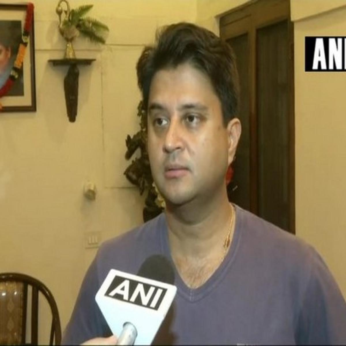 Bhopal: Scindia demands metro train for Gwalior