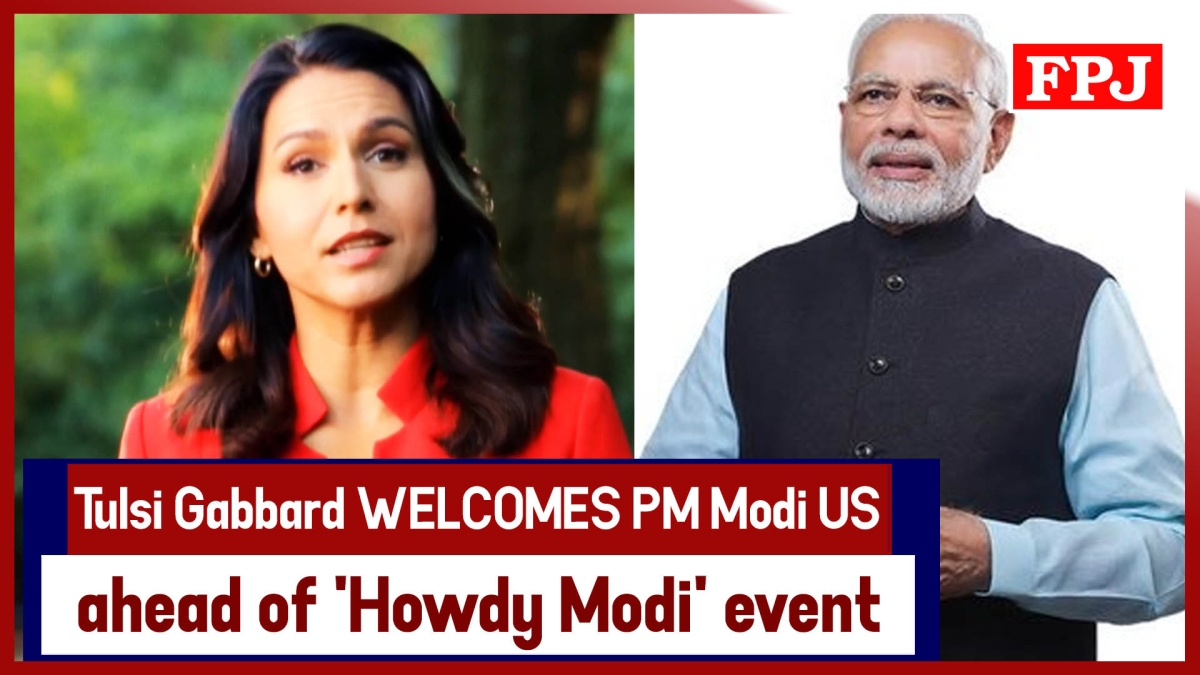 Tulsi Gabbard Welcomes PM Narendra Modi To US Ahead Of '#HowdyModi' Event