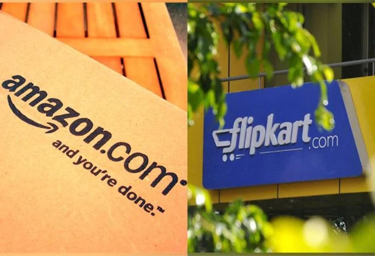 Amazon, Flipkart vie for $4.8 bn online festive business in India