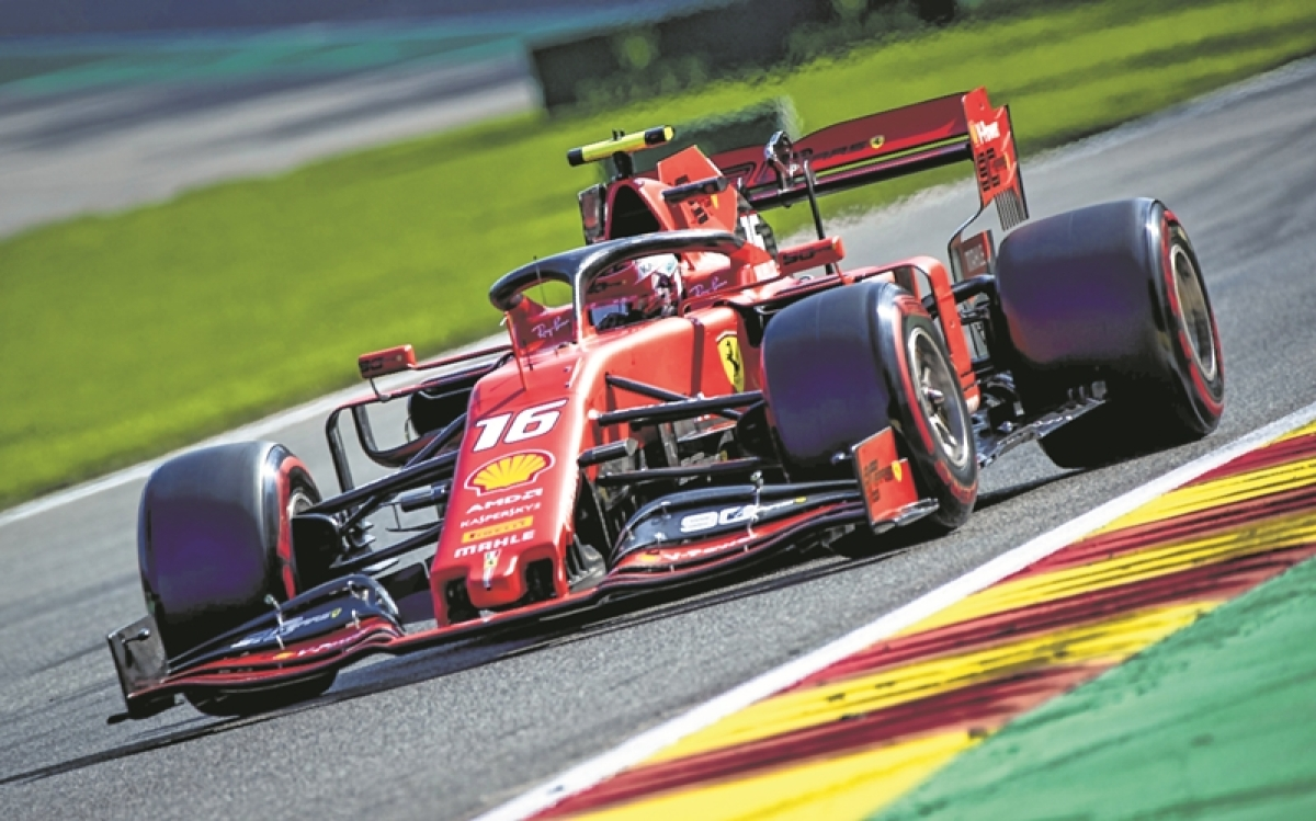 Charles Leclerc beats 'boss' for maiden F1 title