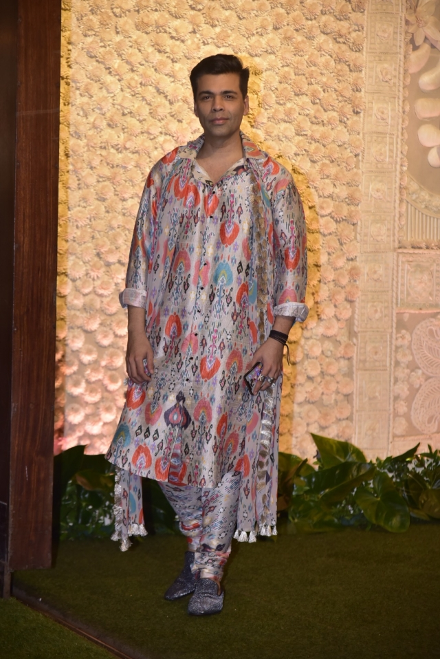 Karan Johar spotted wearing Payal Singhal's collection from Lakme Fashion Week 2019