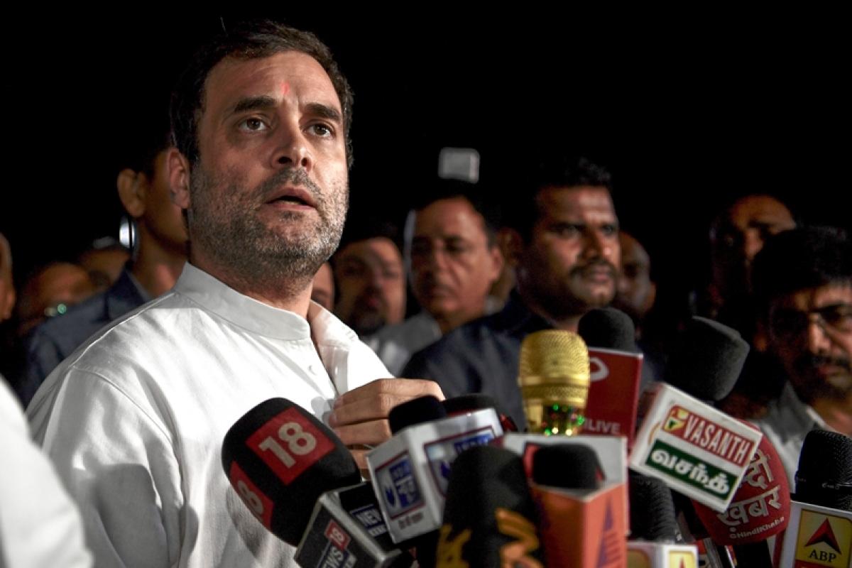 Political opportunism, says Congress leader Rahul Gandhi on action against Sharad Pawar