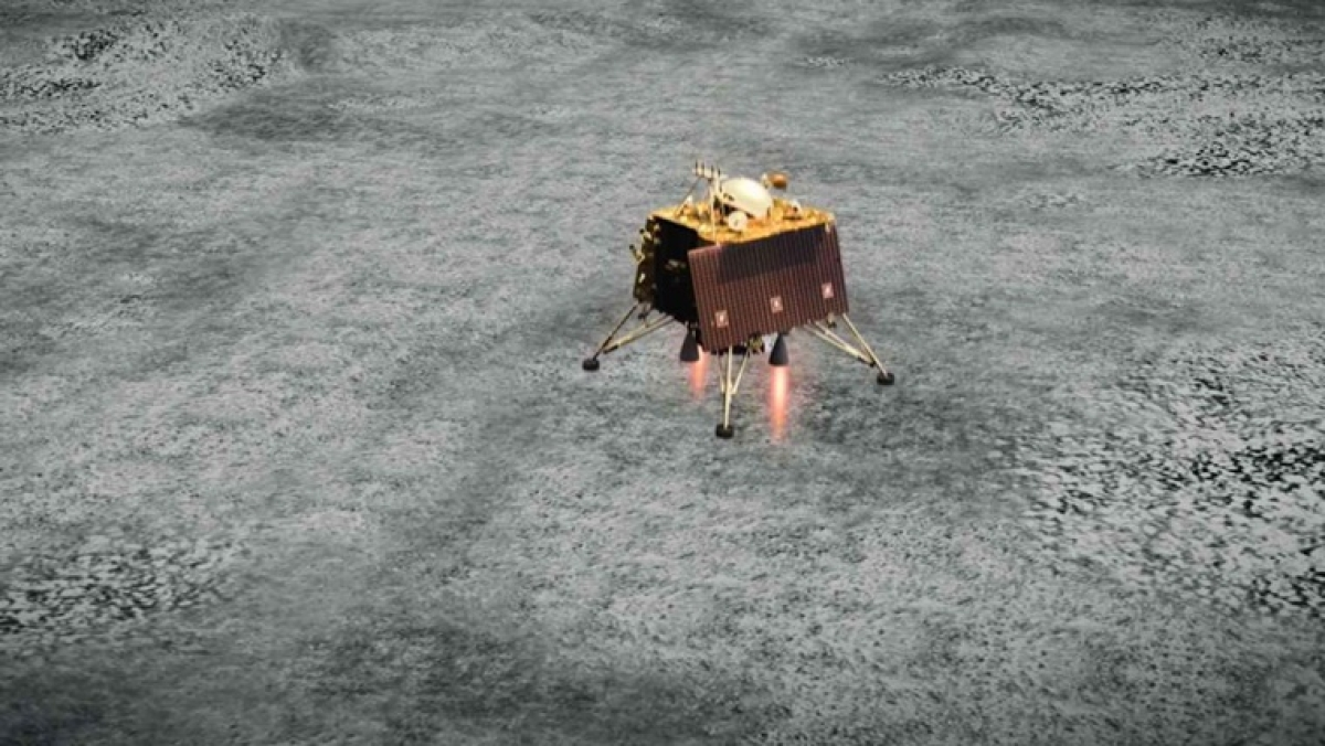 Moon lander Vikram located by Chandrayaan-2 Orbiter but no communication with it yet: ISRO