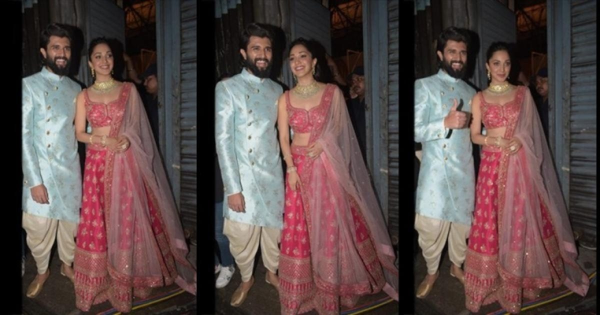 Vijay Deverakonda and Kiara Advani clubbed together in an advertisement
