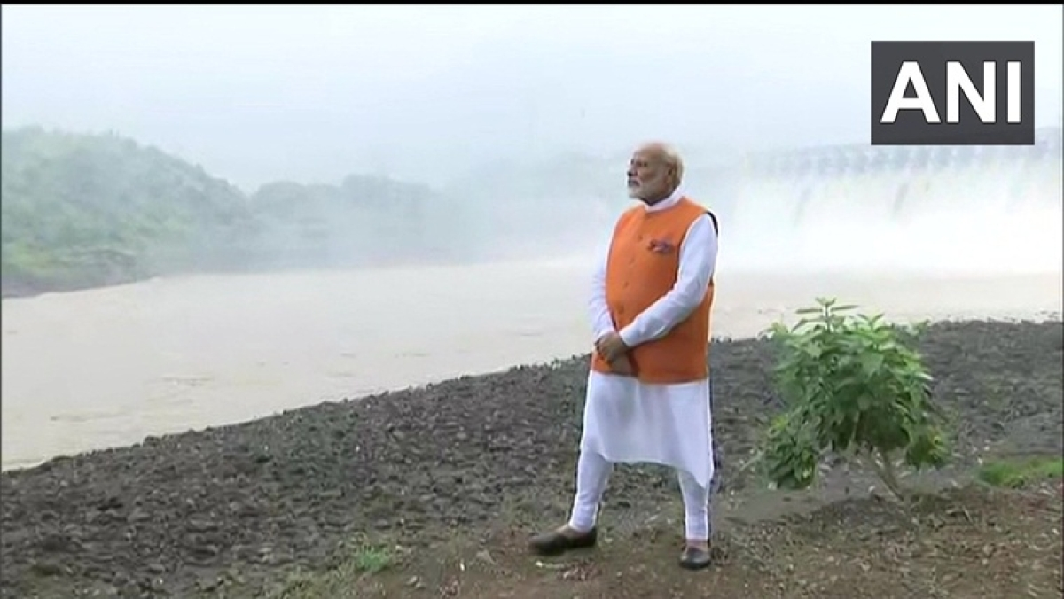 On 69th birthday PM Modi visits Gujarat, tweets Statue of Unity video
