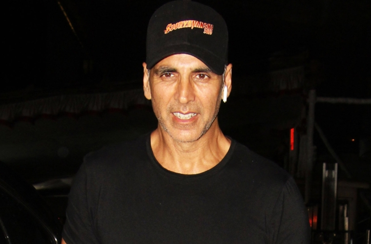 Akshay Kumar just needed some greens to take away his blues!