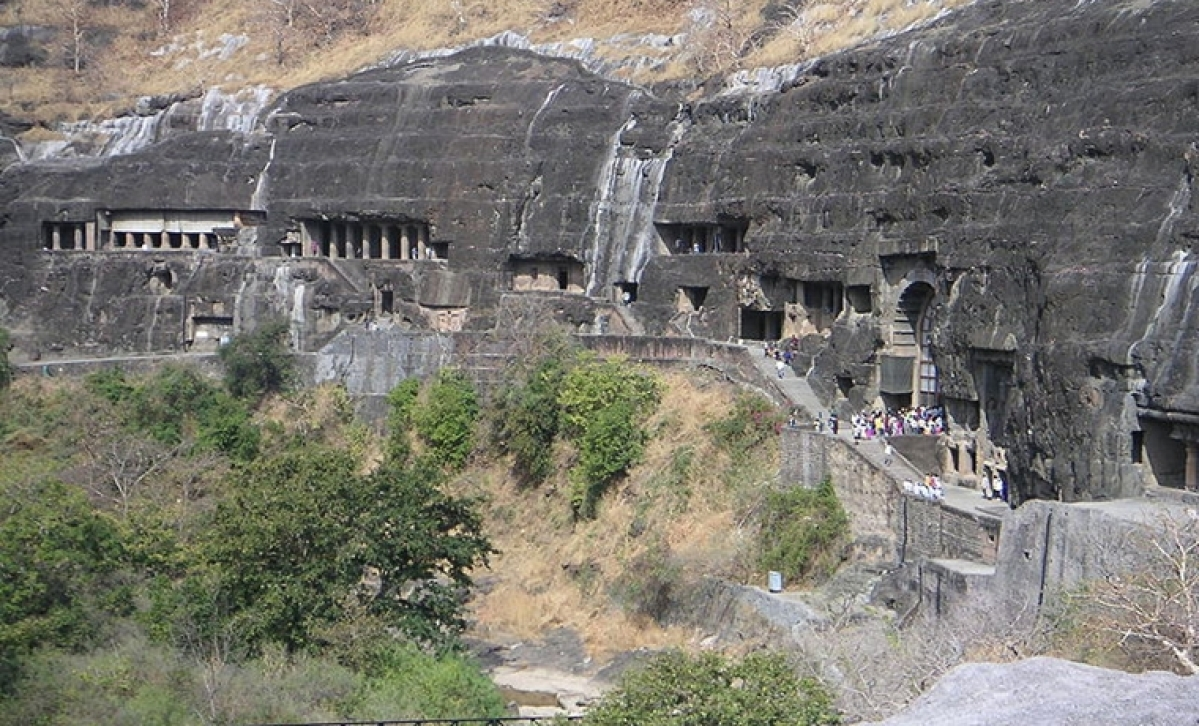 Maharashtra: Road project delay hits tourist footfall at Ajanta Caves